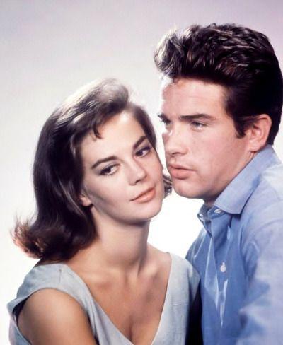 Natalie Wood and Warren Beatty in the Warner Bros./Elia Kazan romantic drama Splendor in the Grass, 1961.