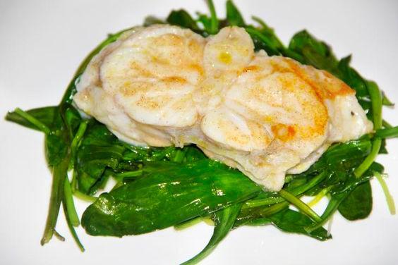 Gebakken zeeduivel   Fried angler   Zeeduivel   Angler   Lamsoren   Salad   Groen   Green   Diner   Dinner   Eten   Food   Gezond   Healthy   Dreambody transformation   De Levensstijl   Asja Tsachigova