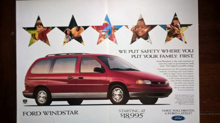 1997 Ford Windstar - National Geographic - December 1996