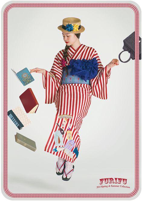 Modern kimono style!