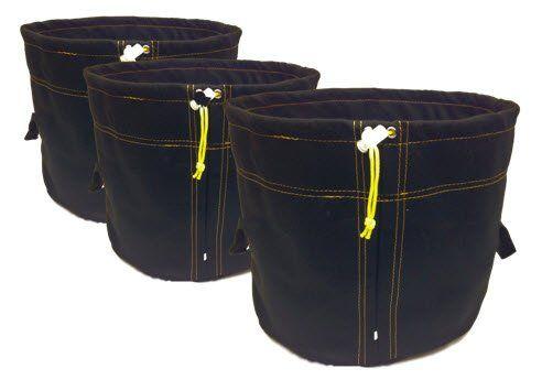 420 Grow Bags for Marijuana 7 Gallon (3 Pack). Black Soft Fabric Grow Pots for Cannabis.