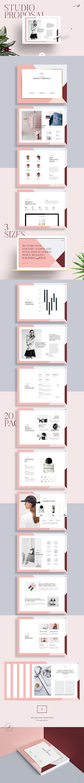 Studio Proposal by Studio Standard on @creativemarket