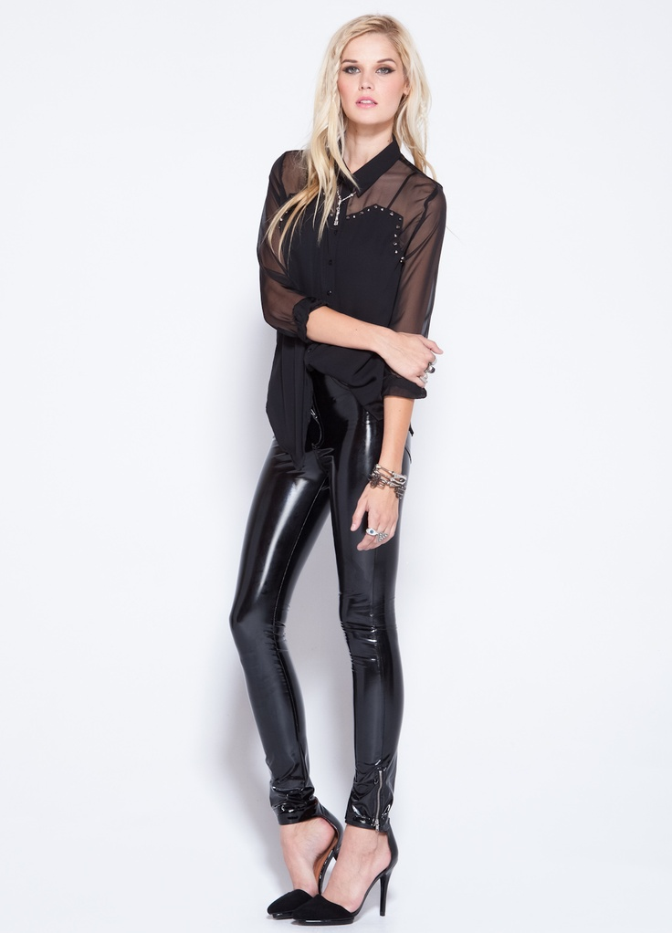 Evil Twin Prodigy Vinyl Pants Nightlife Pinterest