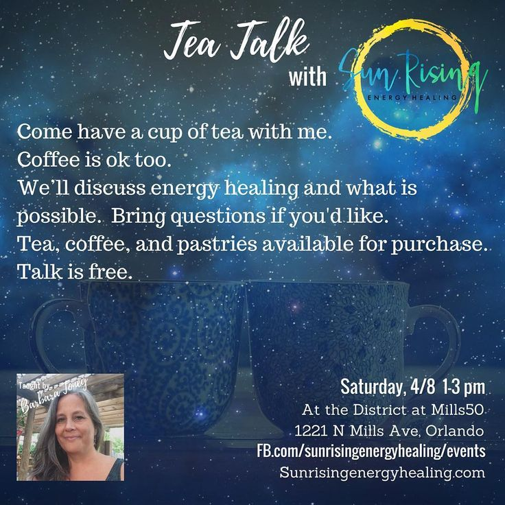 "0 Likes, 1 Comments - Barbara Toney (@sunrisingenergyhealing) on Instagram: ""Last event in Orlando for a bit. Come say hi. #teaislove #teaismagic #magicisreal #energyhealing…"""