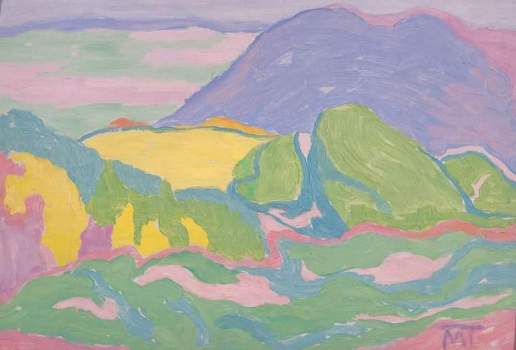 Janos Mattis-Teutsch Landscape 1915