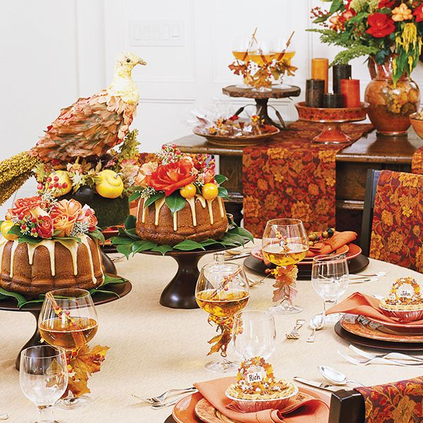 thanksgiving is all about being thankful and thoughtful when you carry a theme from the - Thanksgiving Table Settings Pinterest