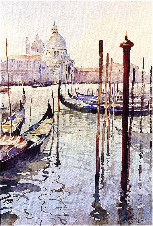 Trevor Waugh | Venetian Quietude | Detail | Rosenstiel's