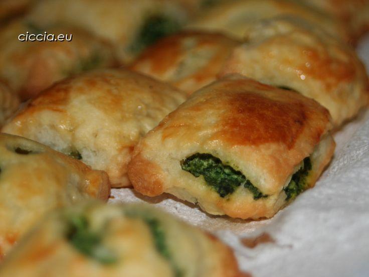 Rustici ricotta e spinaci-Ricette di cucina