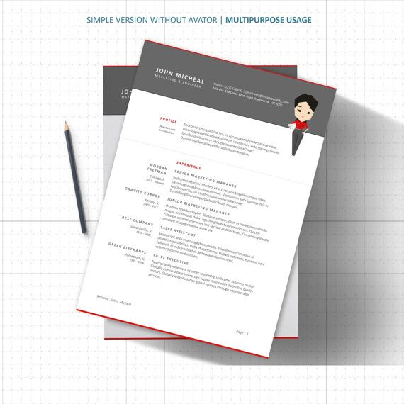 1000+ images about Resume Designs Templates Word File on Pinterest - download free templates for word
