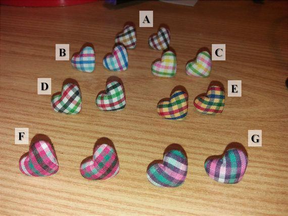 heart earrings gift ideas Christmas present di BazarDiSottomondo