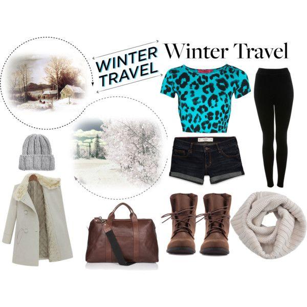 """Winter Traveler"" by hartantinora on Polyvore"