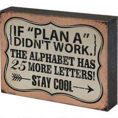 Plan A Block