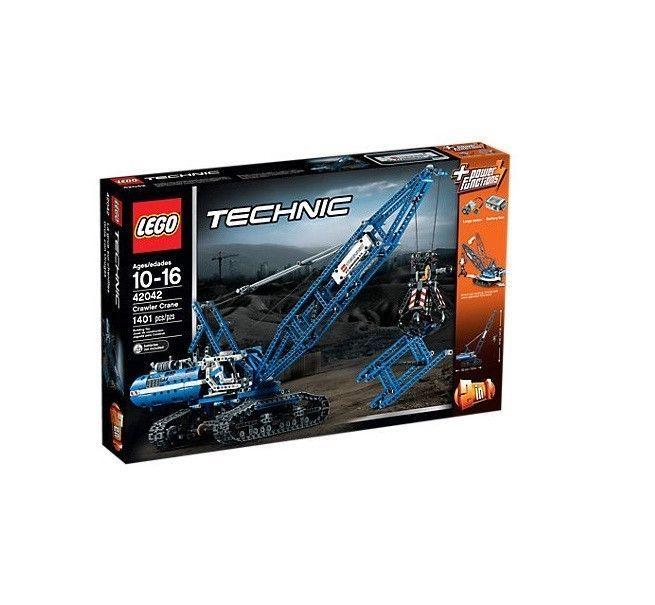 Lego Technic Crane Crawler Authentic Building Block Toys Replica Model #LEGO