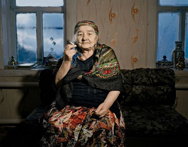 This woman is incredible. She is just as I picture Olaf Shevenko, Petro`s grandmother.