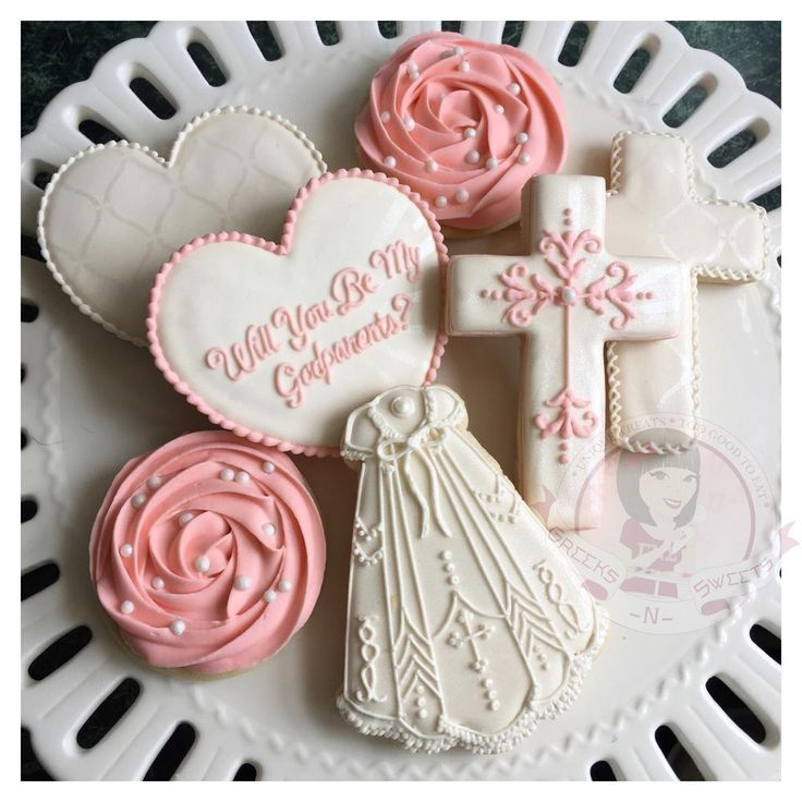 Will You Be My Godparents (Baptism/Christening Cookies) - Greeks-N-Sweets)