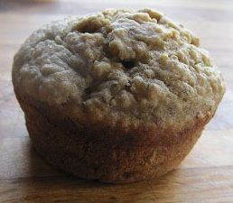 Banana Chia Seed Muffins Recipe: Just made it and the kids are loving it. I used vanilla yogurt because that's what I had but it is pretty sweet already so I might use plain next time.