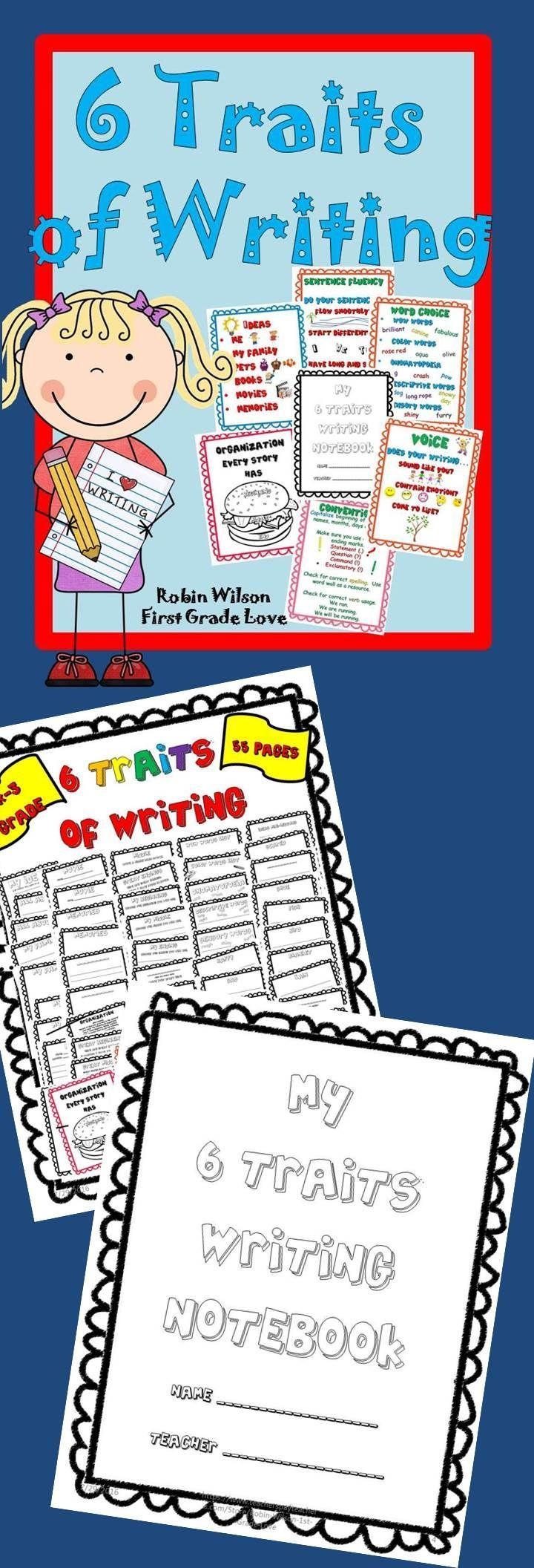 writing traits lessons My 6-trait materials: original reading & writing ideas from my  teaching experience using the six writing traits in my  trait-inspired writing lessons.