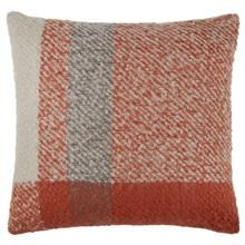 "Eina Plaid Decorative Pillow 18"" X 18"""