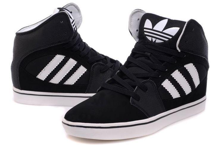 adidas+high+tops | Home :: Adidas High Tops :: Adidas High Tops Black White