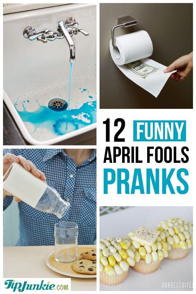 Harmless April Fools Pranks