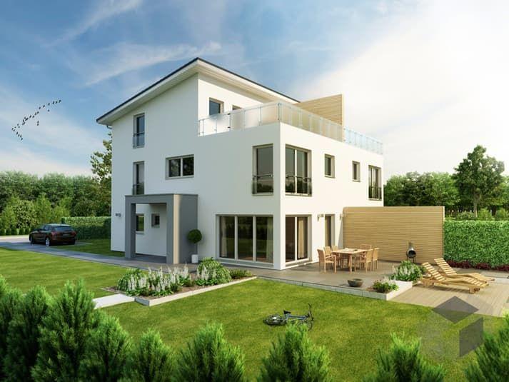 Moderne häuser pultdach  26 besten Bauhäuser Bilder auf Pinterest | Architektur, Flachdach ...