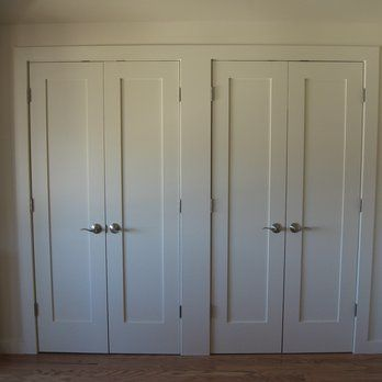 Shaker Style Closet Doors Yelp Dream Home In 2019