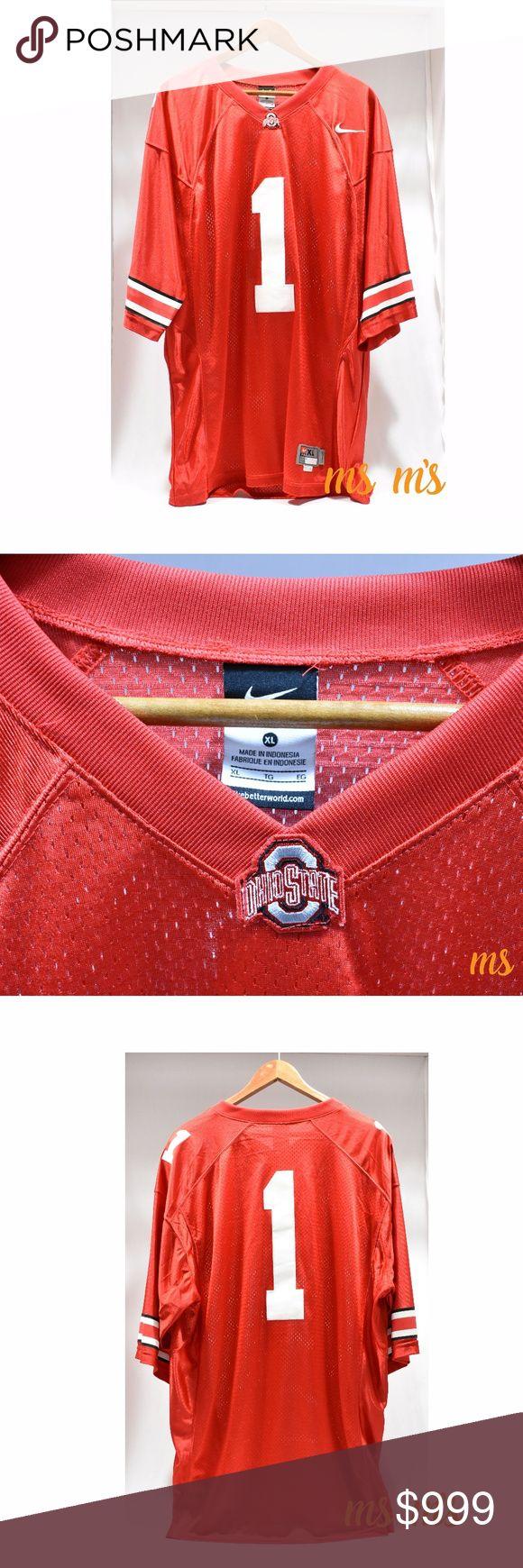 Coming soon Nike mens ohio state football jersey Buckeye  Coming soon Nike mens ohio state football jersey Nike Shirts Tees - Short Sleeve