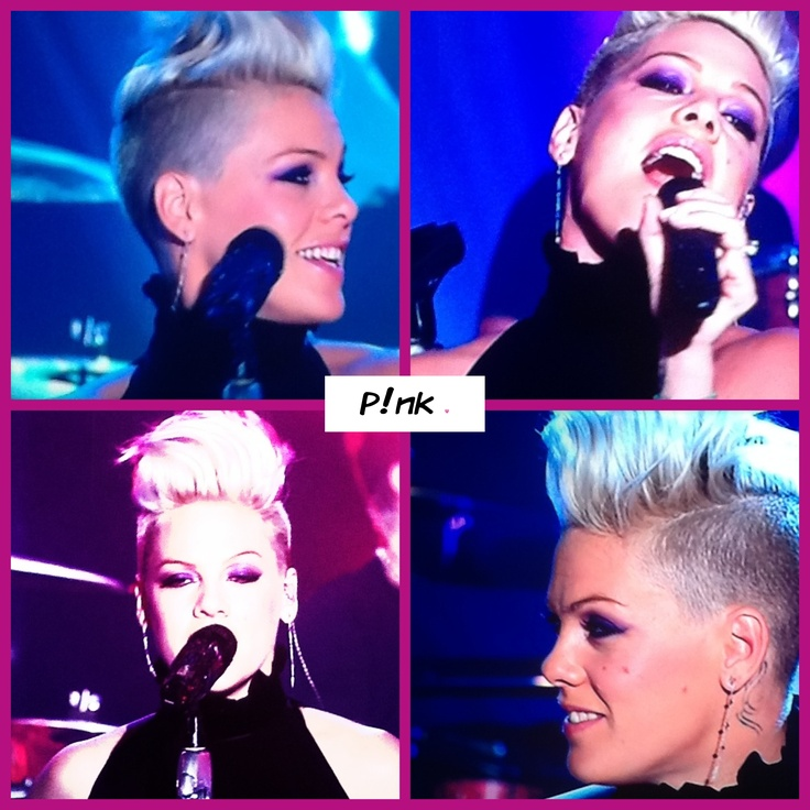 P!nk live on the Today show Australia.