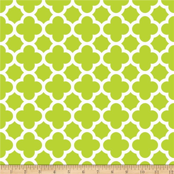 Riley Blake Medium Quatrefoil Lime From @fabricdotcom Designed By The RBD  Designers For Riley Blake. Baby FabricHome Decor ... Part 85