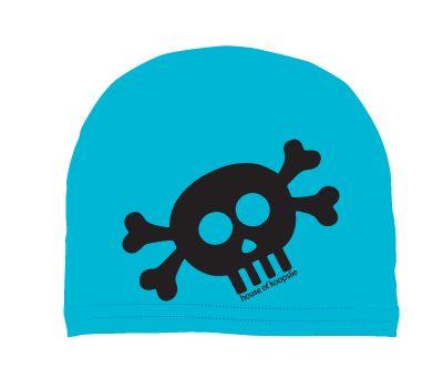 boys: skull on blue