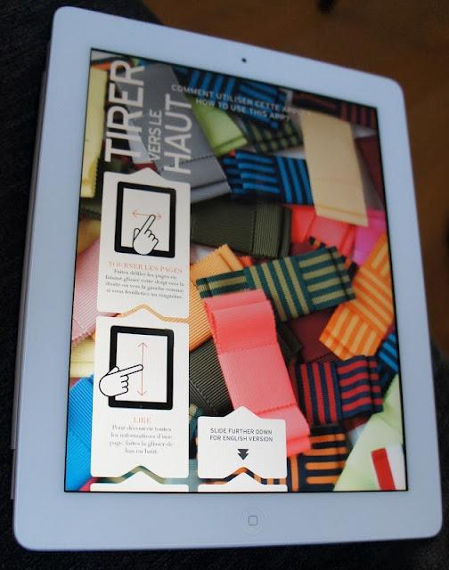Tha iPad app