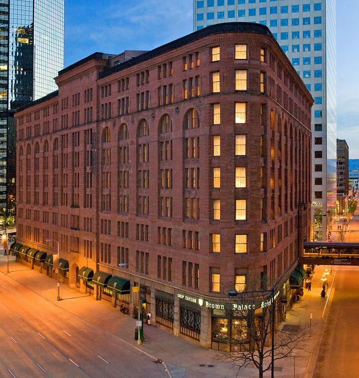 Denver Co The Brown Palace Hotel Spa S Finest Has Been Open Continuously Since Serving High Society And Celebrities