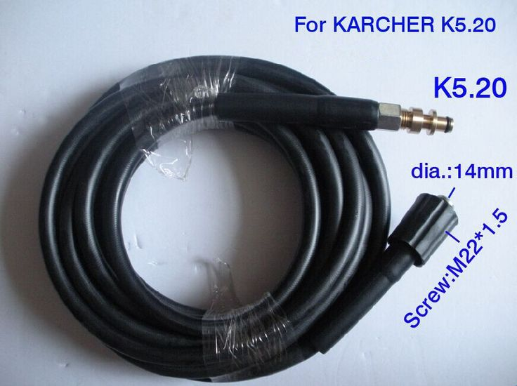 Car washer hose with K5.20 quick connector 40Mpa 400Bar 5800PSI high pressure washer hose M22*1.5*14mm #Affiliate