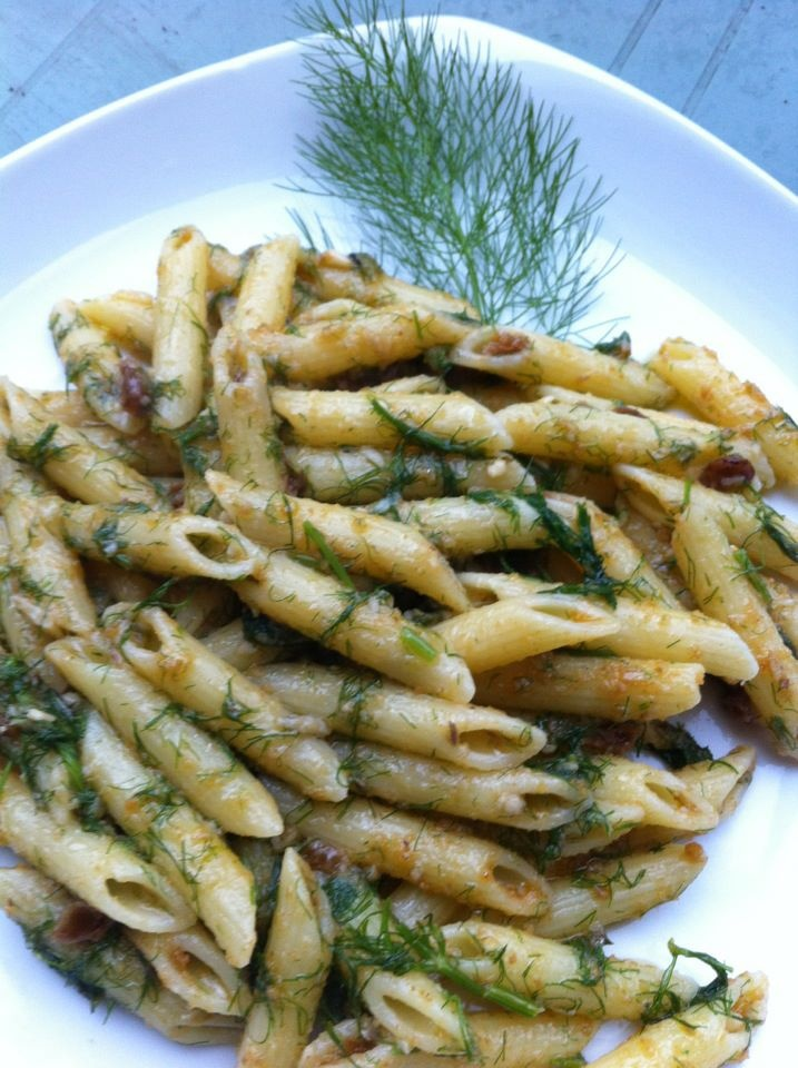pasta with sardines and fennel bowl using a pasta with sardines and ...