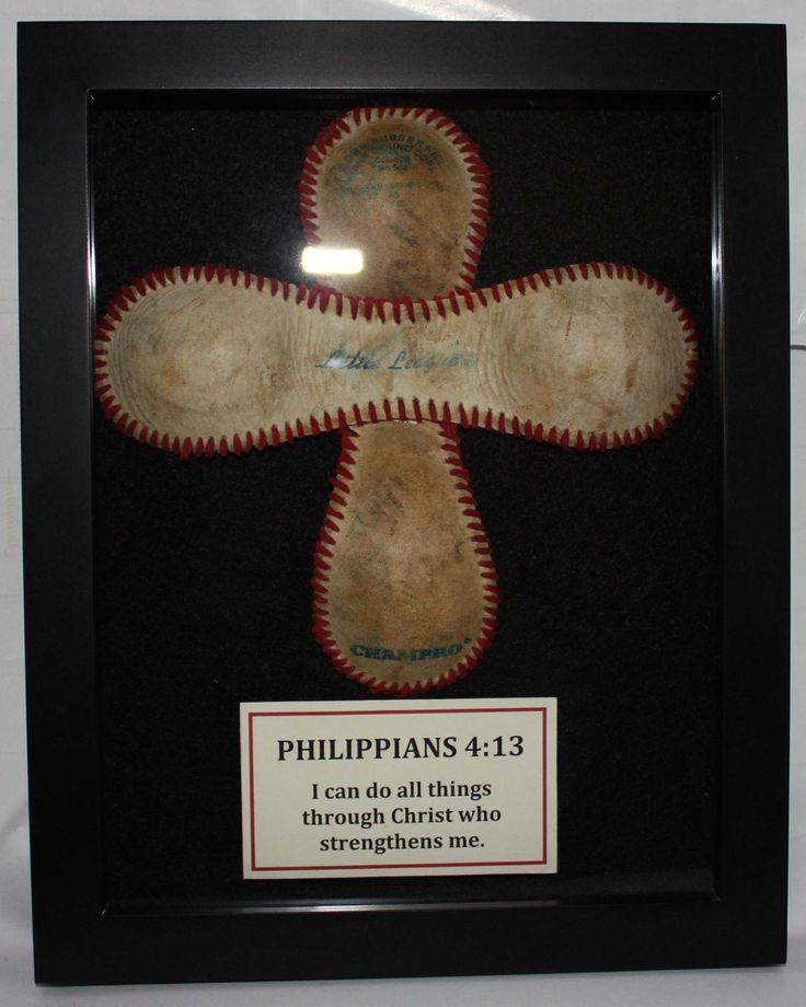 baseball cross for little boy's room
