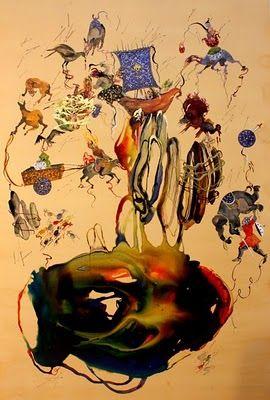 Shiva Ahmadi Iranian Artist