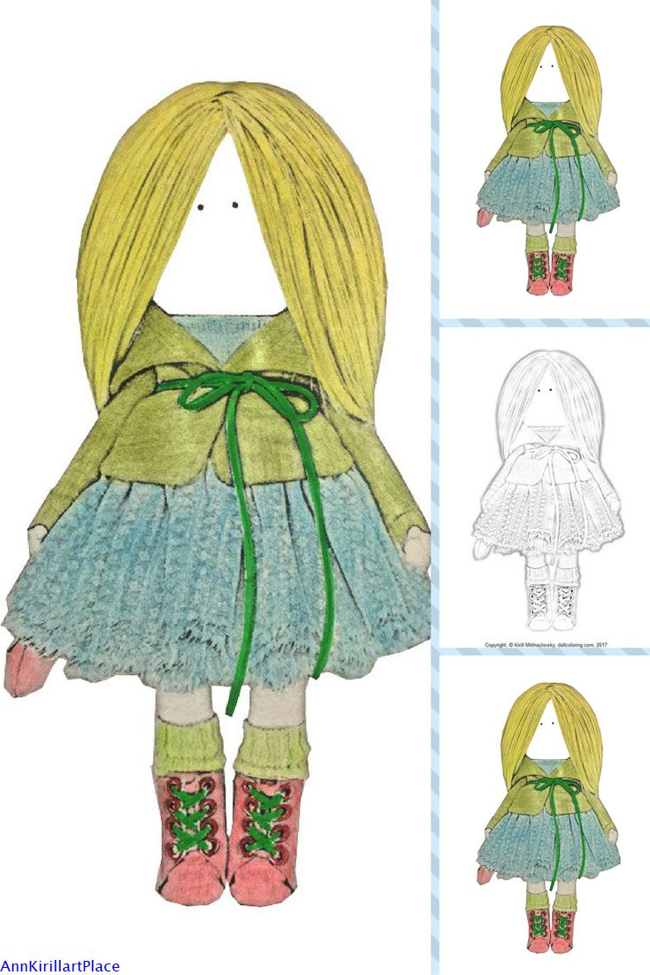 Childrens coloring sheet of a rag doll - Coloring Page Art Doll Coloring Book Tilda Doll Adult Coloring Handmade Doll Art Coloring Rag Doll Kids Coloring Fabric Doll Child Coloring