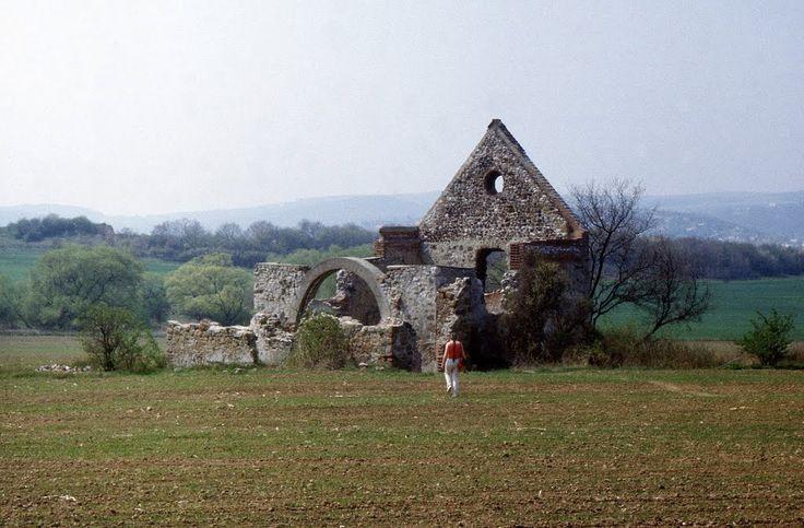Gercsepusztai Boldogasszony templom 1986.