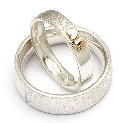 RS of Scandinavia anelli di fidanzamento d'argento - Silver engagement ring