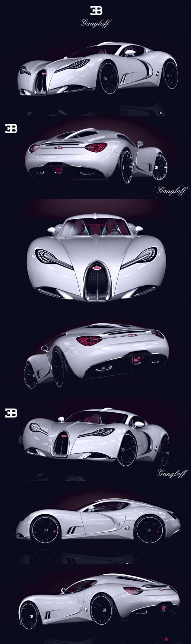 Bugatti Gangloff Concept Car, Invisium By Paweł Czyżewski. U201d In Times Of  Commercial Trash And Plastic It Is Hard To See Something That Has A Soul  And Is ...