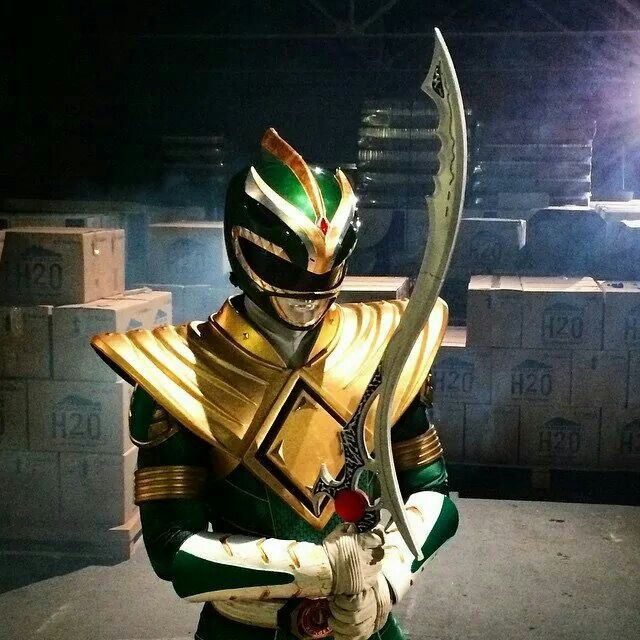 Jason David Frank (Tommy-Green Ranger) just posted this