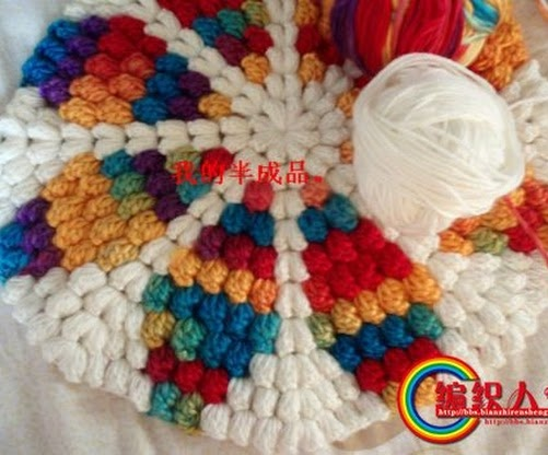 ALGUNOS PUNTOS ORIGINALES: Crochet Ideas, Crochet Stitches, Crochet Tips N Stitches, Crochet Basket Rugs, Crochet Rugs, Crochet Mandalas, Photo, Crochet Patternsstitches