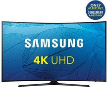 """Samsung 55"""" 4K Ultra HD Curved LED Tizen Smart TV (UN55KU6500FXZC) - Black - Only at Best Buy from Best Buy $1,199.99 (33% Off) -"""