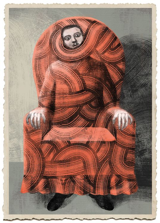 Le Horla by G. De Maupassant  Editions Milan, France - Illustration by Anna and Elena Balbusso