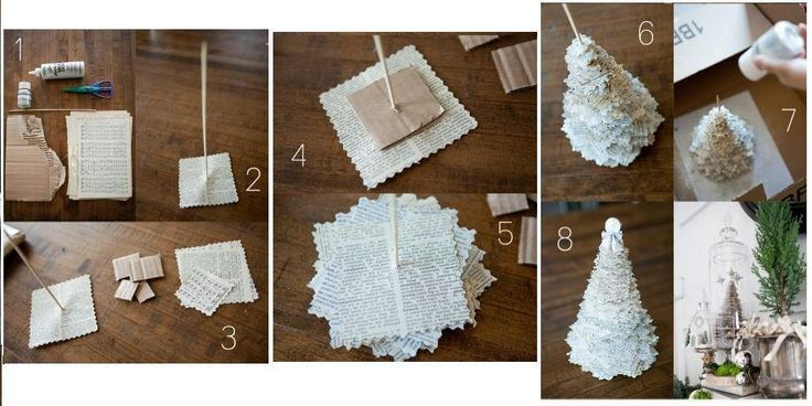 Bricolage de noel colle et papier pinterest noel and - Bricolage de noel pinterest ...