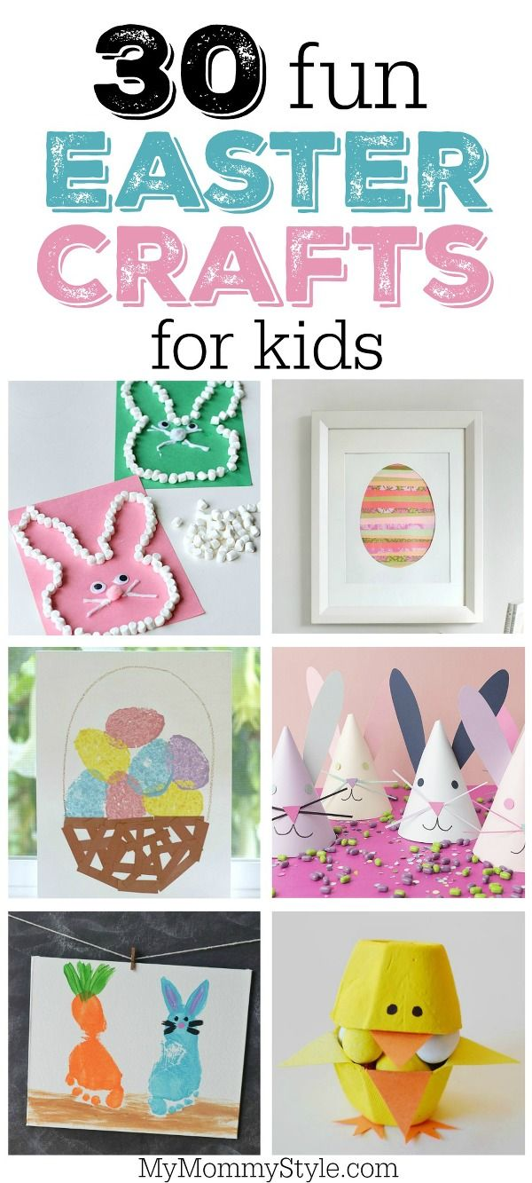 30 fun and festive easter crafts for preschoolers or early