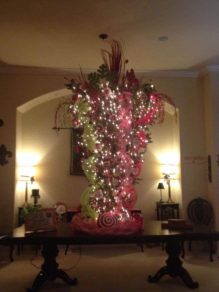 33 Best Upside Down Christmas Trees Images On Pinterest