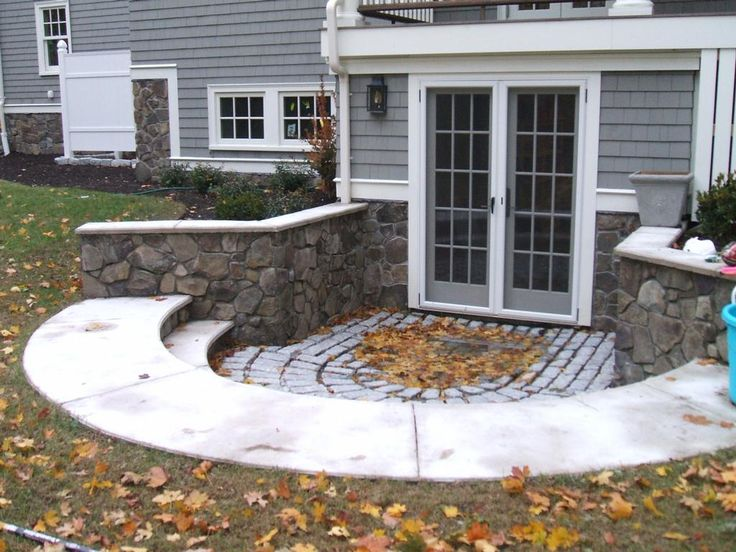 The 25 best walkout basement patio ideas on pinterest for Walkout basement patio ideas