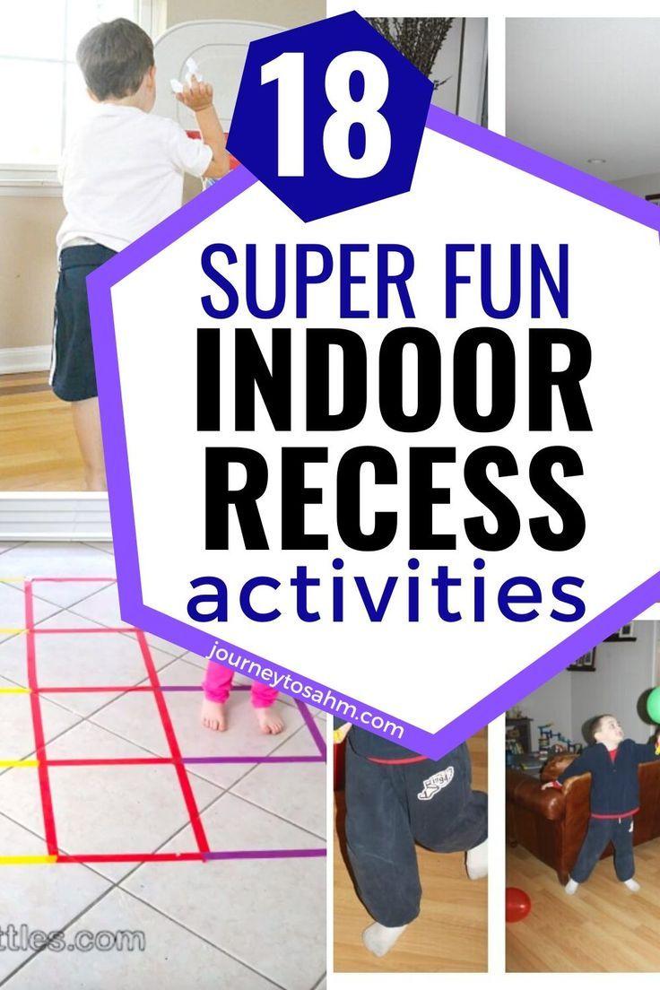18 Active Indoor Activities For Preschoolers To Get Them Up And Moving Indoor Activities Recess Activities Indoor Recess Activities