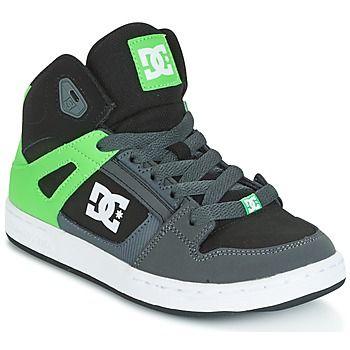 Zapatillas altas DC Shoes REBOUND SE Verde / Negro / Blanco 58.95 €